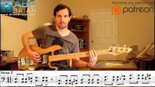 Soundgarden - Pretty Noose - Bass Transcription