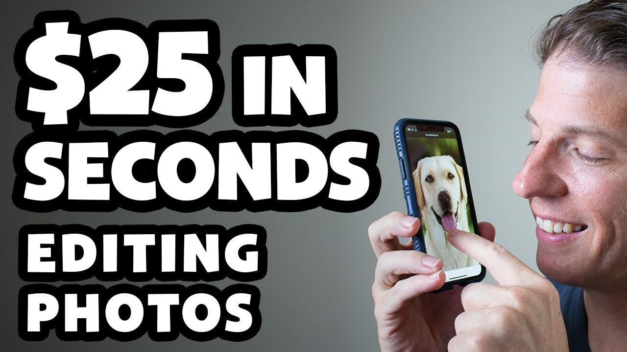 Make Money Editing Photos In Seconds - Easy Online Jobs