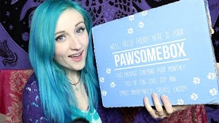 PAWSOME BOX REVIEW .ft. BEAR