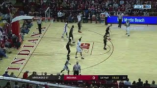 Juwan Morgan Early Dunk vs. Arkansas State
