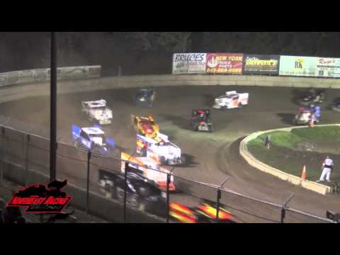 INSIDE NORTHEAST RACING SHOW #24   Accord Fonda and Glen Ridge Speedway CRSA sprint cars