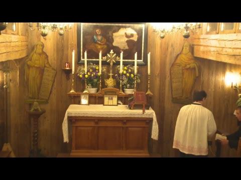 Santa Messa col novello Sacerdote Philip Davis CMRI
