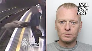 Man found guilty of pushing people onto the train tracks