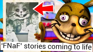 FNAF was REAL BEFORE the GAMES... (the MISSING Chuck E. Cheese link to fnaf?)