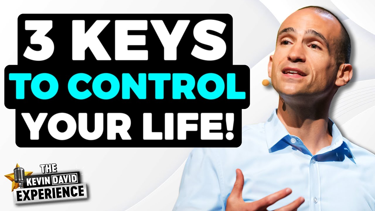 The 3 Keys to STOP Procrastinating and CONTROL Your Life  The Kevin David Experience EP 25