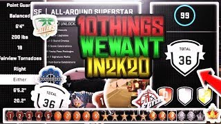 10 Things we NEED NBA 2K20 to have to be better than NBA 2K19!