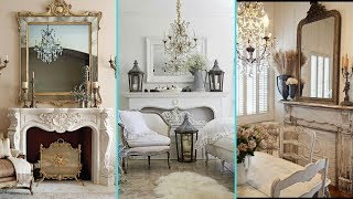 ❤ DIY Shabby Chic Style Faux Fireplace decor ideas ❤  Home decor & Interior design   Flamingo Mango