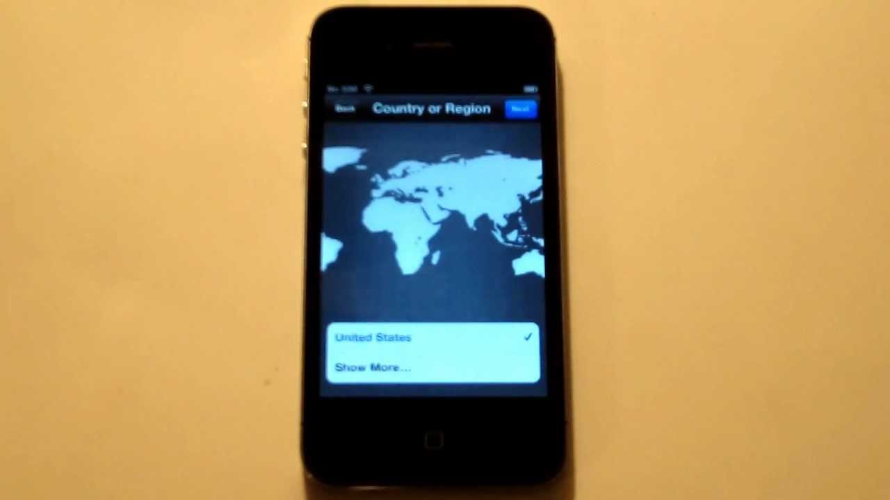 how to activate iphone 4s how to bypass ios 6 activation screen without sim card for 5676