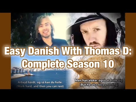 Easy Danish with Thomas D - Complete season 10