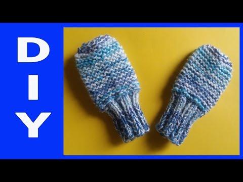 Baby – Handschuhe stricken • DIY  * Julebuergerfee
