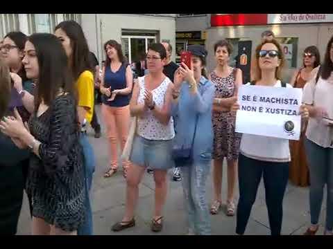 Indignación en Monforte por la puesta en libertad de La Manada
