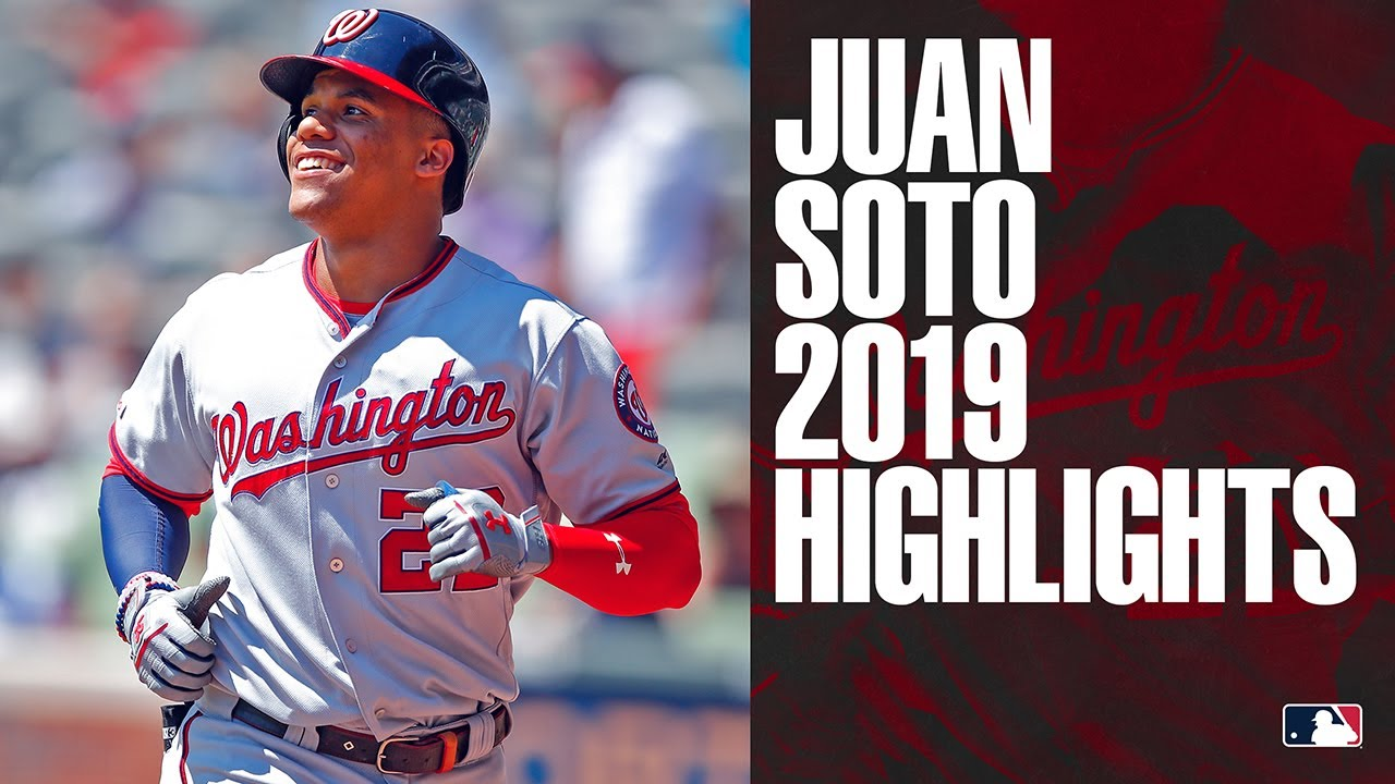 Juan Soto 2019 Regular Season Highlights