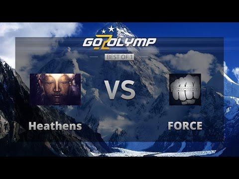 """Dota 2: Heathens vs FORCE, """"Знакомство с богами — Дионис"""" ($200 Tournament), Четвертьфинал"""
