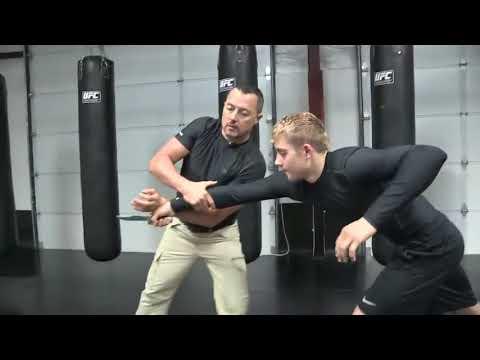 Self Defense Training with Master Val Riazanov in Dubai