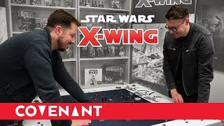 Playing Star Wars: X-Wing Second Edition w/ Co-Designer Alex Davy