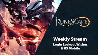 Login Lockout Wishes & RS Mobile Updates | RuneScape Weekly Stream (May 2021)