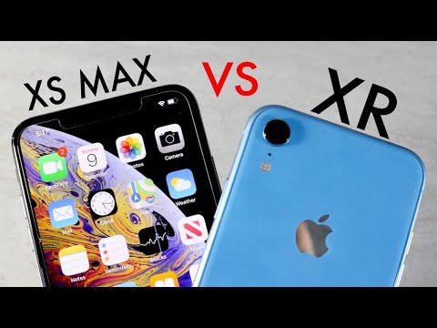 iPhone XR Vs iPhone XS Max In 2020! (Comparison) (Review)