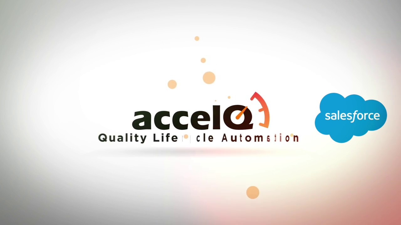 accelQ Salesforce Universe - Automate 3x faster