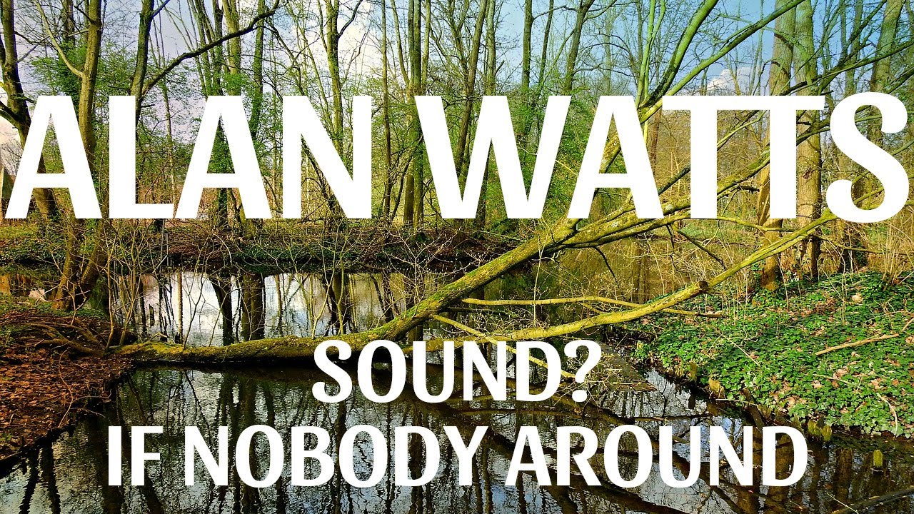 Alan Watts - If nobody is around when a tree falls, does it make a sound?