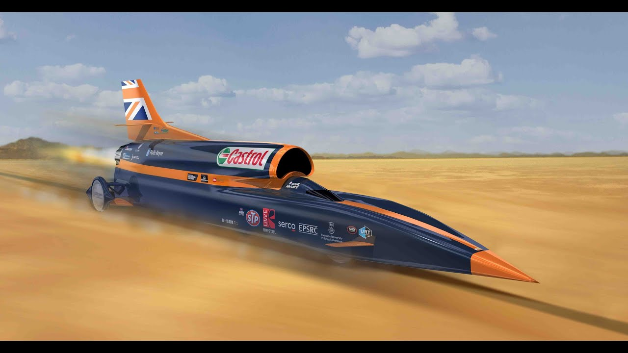 Land Speed Record >> Introduction to the 1,000 mph BLOODHOUND Project - YouTube