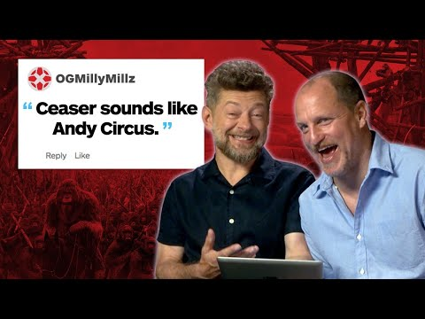 Thumbnail: Woody Harrelson & Andy Serkis Respond to IGN Comments