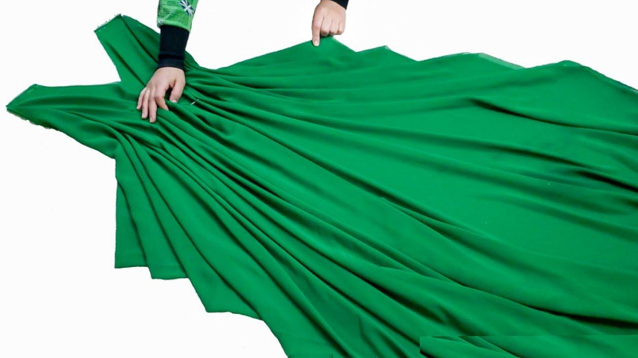 خياطة فستان بدون تفصيل بكل بساطة l فكرة مدهشة لخياطة فستان بطريقة بسيطة جدآ
