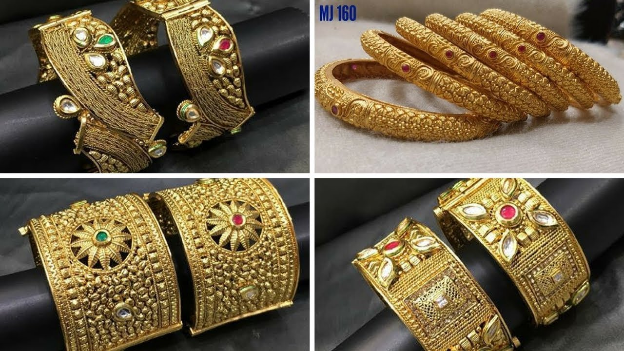 2019 year for lady- Gold Indian bangles 22k