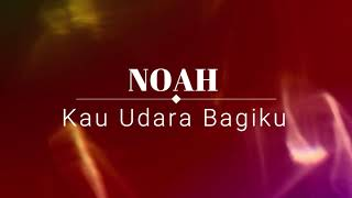 Gambar cover Noah - Kau Udara Bagiku KARAOKE TANPA VOKAL