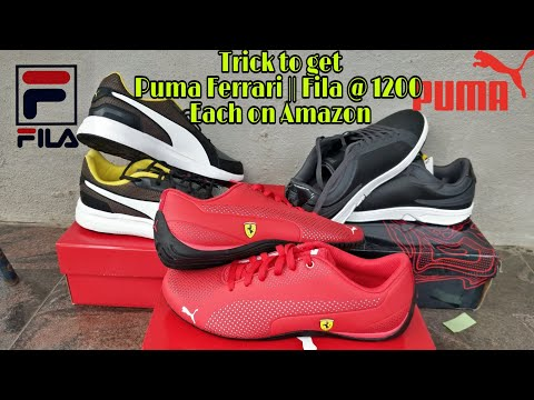 Men Fashion Trick || Buy 3 PUMA SHOE Ferrari For Just 1200 RS Each