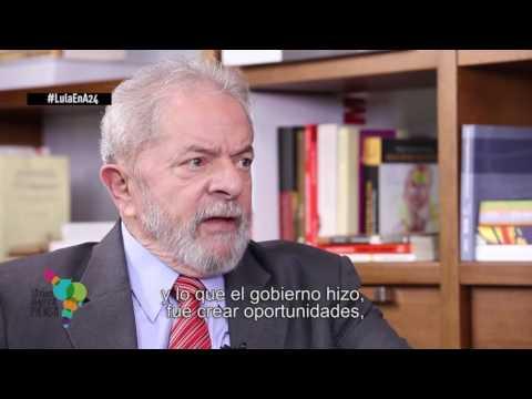 Latinoamérica Piensa 1 - Diálogo con Lula Da Silva, ex presidente de Brasil
