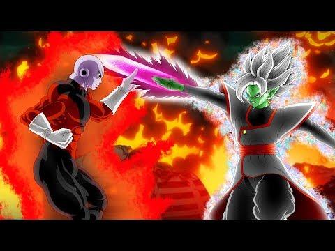 Jiren Vs Merged Zamasu (Astral/Universal) In Dragon Ball Super