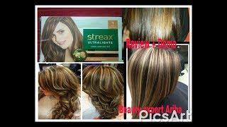 Streax Hair Highlighter stripping Review +Demo ll save your 10,000 4 streax highliter stripping hair