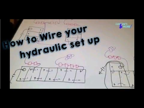 lowrider hydraulic wiring diagram 8 battery s how to wire hydraulics in a lowrider youtube  how to wire hydraulics in a lowrider
