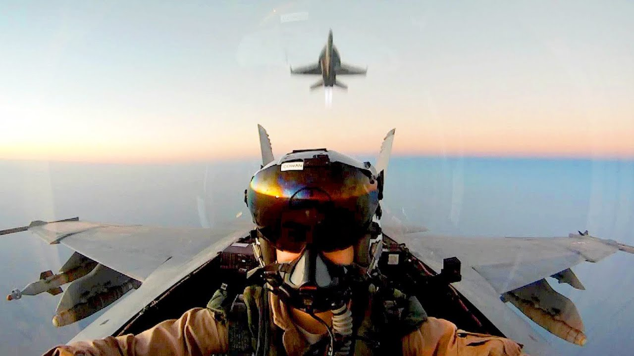 f-18 super hornets in action - experience the awesomeness of this
