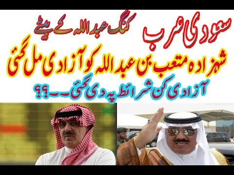 Saudi Arabia Prince |Releases Senior Prince Arrested in Anti Corruption Purge|2017|Urdu Hindi|