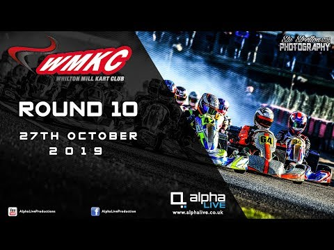 Whilton Mill Kart Club Round 10 LIVE From Whilton Mill