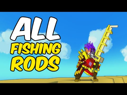 All Fishing Rods In Trove