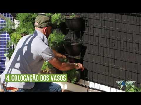Como fazer um Jardim Vertical | Mondo Irrigação