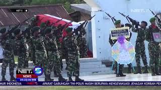 Download Pemakaman Serda Handoko Dilakukan di Taman Makam Pahlawan Sorong   NET5 Mp3 and Videos