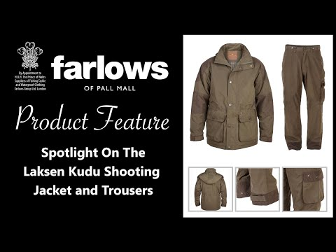 Features & Benefits Of The Laksen Kudu Shooting Jacket & Trousers