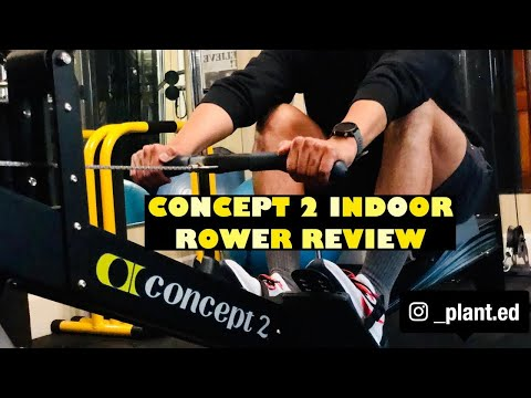 CONCEPT 2 INDOOR ROWER REVIEW