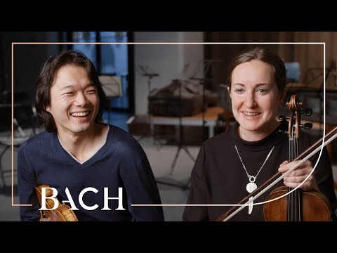 Sato And Deans On Concerto For Two Violins In D Minor BWV 1043 | Netherlands Bach Society
