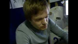 Николай Овчинников на планерке новостников(Планерка и музыка - Captured Live on Ustream at http://www.ustream.tv/channel/ragion-k., 2012-10-14T14:06:55.000Z)