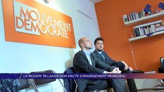 Yvelines | Le Modem 78 lance son pacte d'engagement municipal