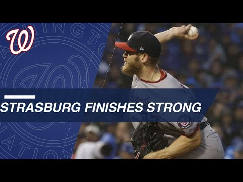 Watch Strasburg Dominate In The Full 7th Inning Of NLDS Game 4