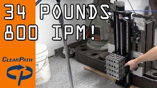 Arduino & ClearPath Servo: Moving 34 lbs FAST! WW131