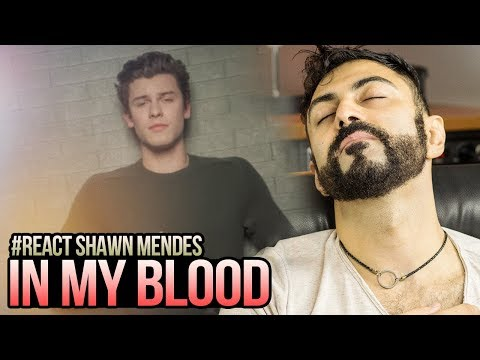REAGINDO a Shawn Mendes - In My Blood