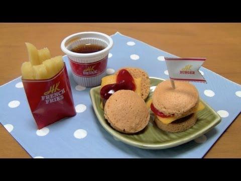 Happy Kitchen Candy Hamburgers ~ ハッピーキチンハンバーガー