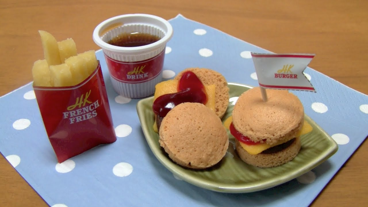 Happy Kitchen Candy Hamburgers ~  - YouTube