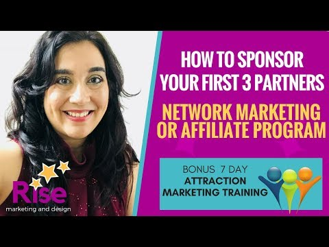 How to Sponsor Your 'FIRST 3 PARTNERS' in Network Marketing | BUILDERALL PARTNER TRAINING